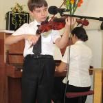 Прославление Бога на скрипке