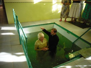 крещение Натальи Лымарь