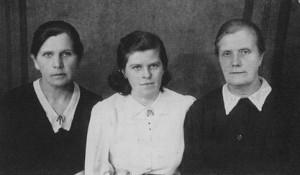 Три дочери Ганн Андрея: Эльза, Лида и Катерина