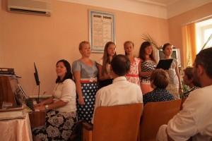 Молодые литературные евангелисты на служении