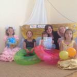 Дети в учебном центре