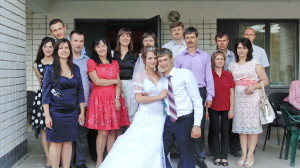 После свадебной церемонии