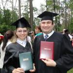Алена Торба и Александр Тюпин