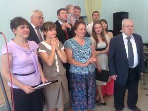 Большая семья пастора-пенсионера Воронюка