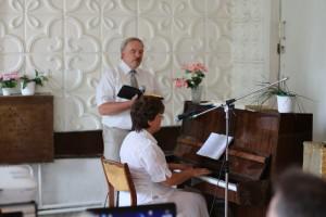 Пастор Виталий Выпущенко с супругой