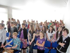 Студенты ШМЛ