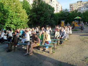 Концерт на летней площадке