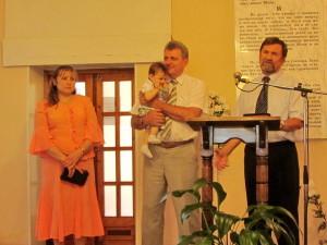 Благодарность за служение пастору Владимиру Фисуну