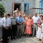 Фото напамять с пасторами Фисуном и Ивашкив