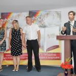 Пастор Петр Попелишко представляет кандидата к рукоположению