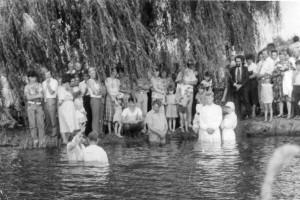 Перед самим крещением