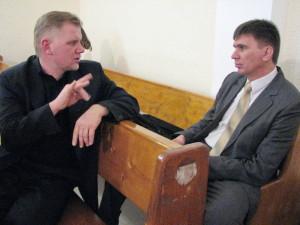 Беседа с Александром Слюсарским