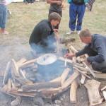 Импровизированная печка