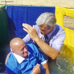Крещу тебя во имя Отца, Сына и Святого Духа!
