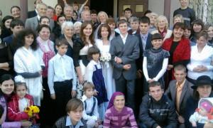 Алексей и Анна с родными и друзьями