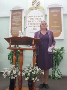 Руководитель детского отдела Нина Шевченко
