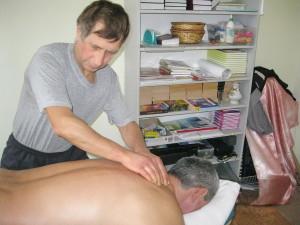Обучение приемам массажа
