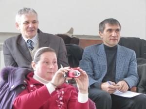 Слушатели семинара пасторы Михаил Микитюк и Анатолий Маликов