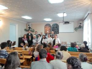Служение в общине города Мерефа