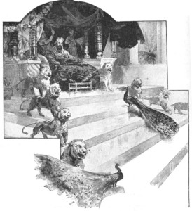 Соломон на троне