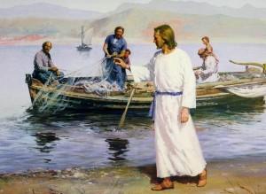 Христос избирает учеников