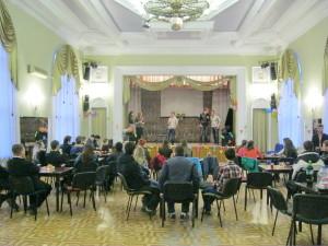 Встреча молодёжи двух городов