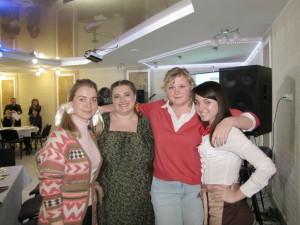 Харьковская молодёжь в кафе