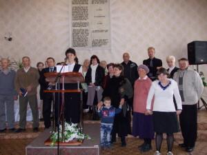 На сцене - миссионеры Мелитополя