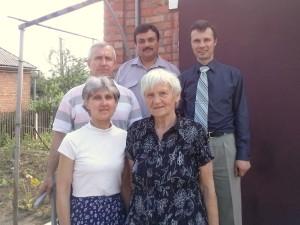 Часть дружной команды миссионеров