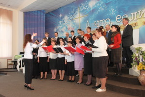 Сводный криворожский хор