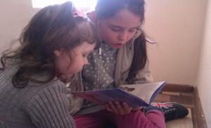 Дети на библейских занятиях