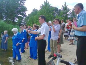 Крещение на реке Самаре
