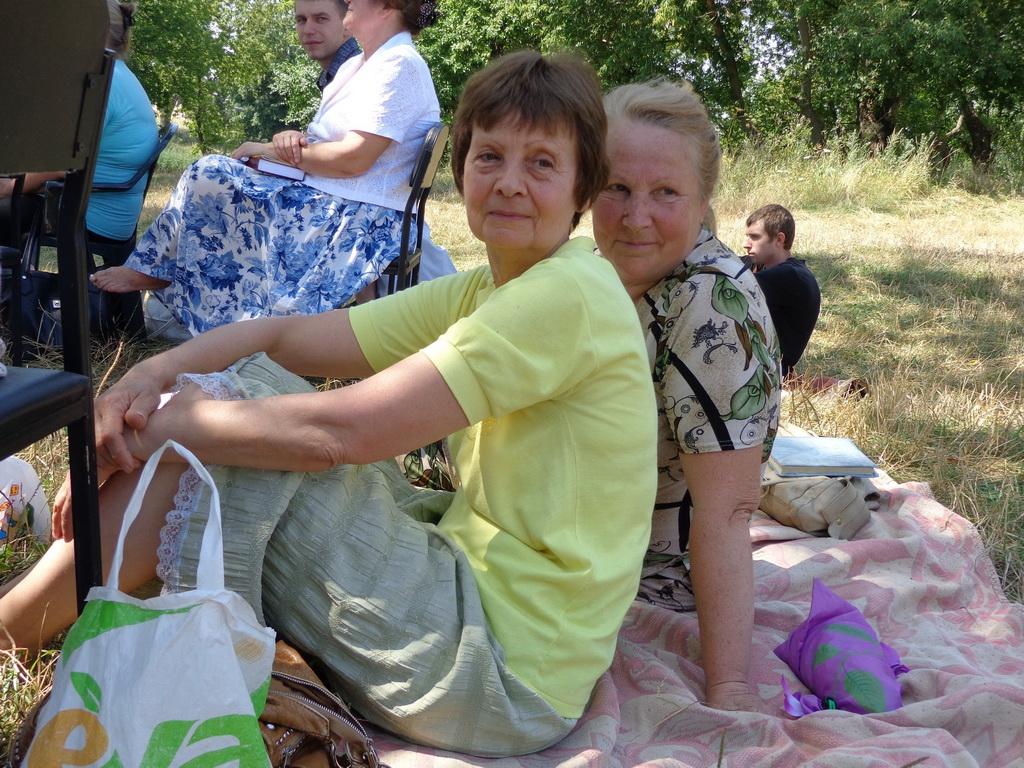 Сестры на природе 2 фотография