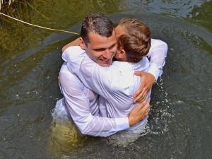После крещения