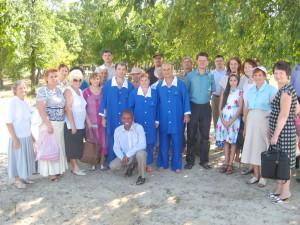 Ингулецкая община с крещаемыми