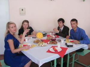 Молодые семьи - активные участники семейного клуба