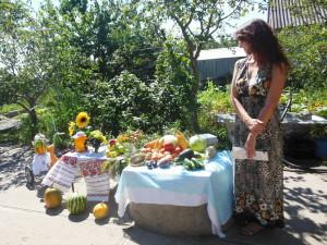 Плоды нового урожая на витрине