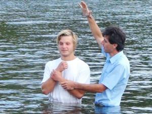 Крещение Сергея Шейки