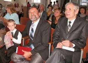 Торжественное служение в Лозовой
