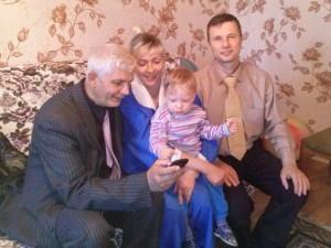 Праздник в доме Литвинюк