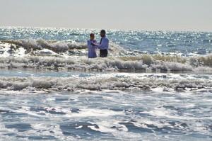 Крещение в водах Азовского моря