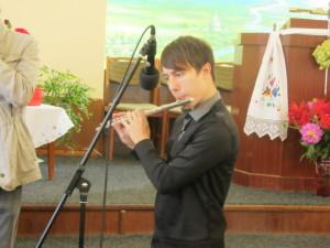 Соло на флейте Антон Ивашкив