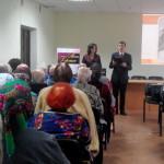 Ведущие Ирина Исакова и Денис Антонов