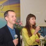 Ведущие Федор Федоровский и Анна Сливинская