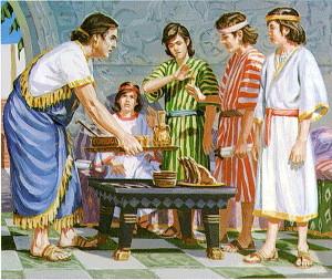 Даниил и его друзья
