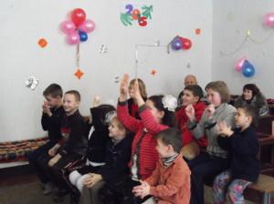 Участники праздника в г. Днепродзержинске