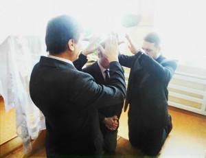Молитва рукоположения