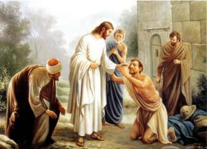 Иисус исцеляет