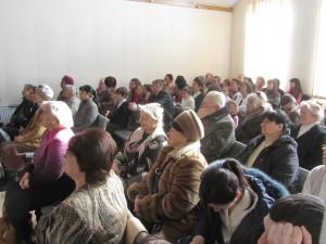 Церковь во время проповеди гостей