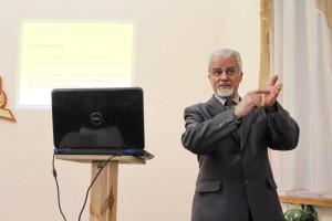 Юрий Кузьменко на семинаре в Днепропетровске